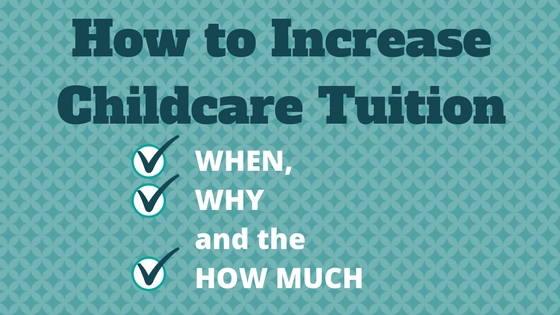 increase childcare tuition